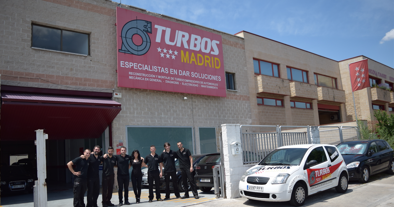 turbocompresor, cambiar el turbo exterior